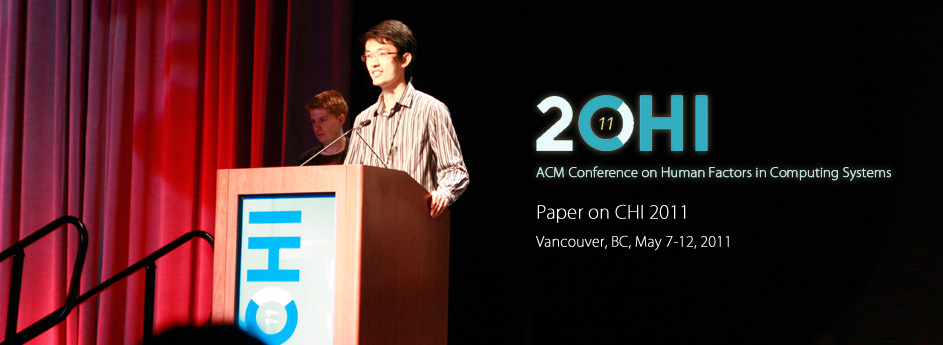 CHI 2011 Paper